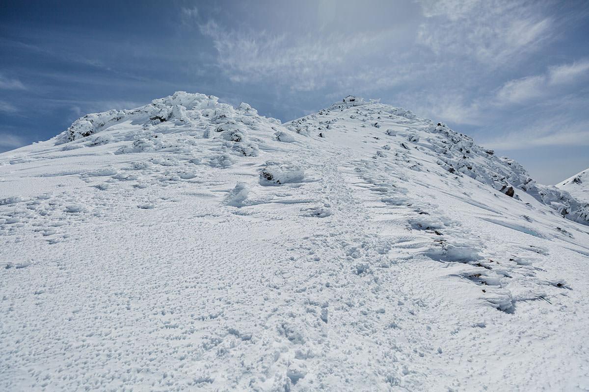 【乗鞍岳 Mt.乗鞍スノーリゾート】登山百景-登り返し
