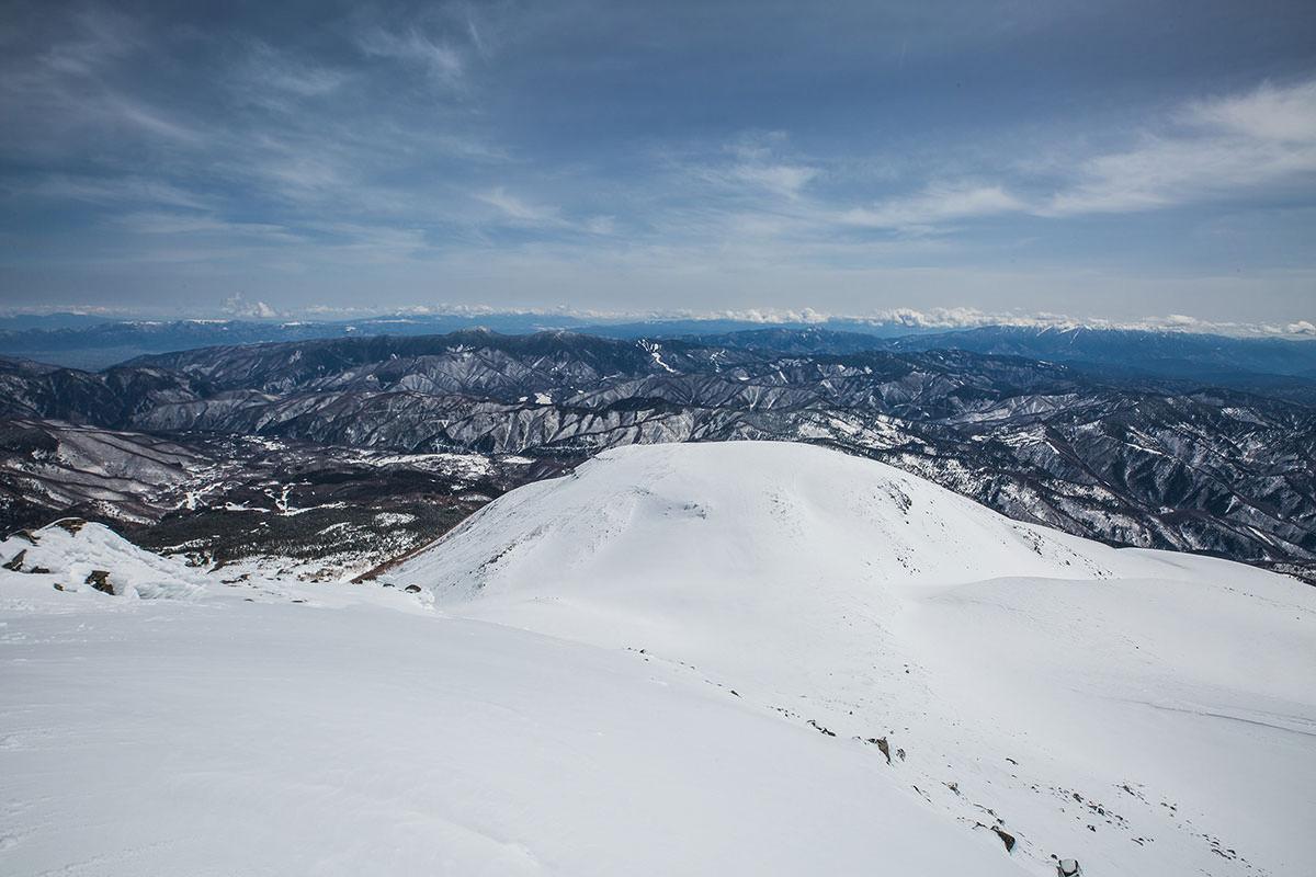 【乗鞍岳 Mt.乗鞍スノーリゾート】登山百景-浅間山や八ヶ岳の方
