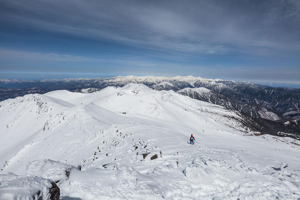 【乗鞍岳 Mt.乗鞍スノーリゾート】登山百景-山頂から見る北アルプス