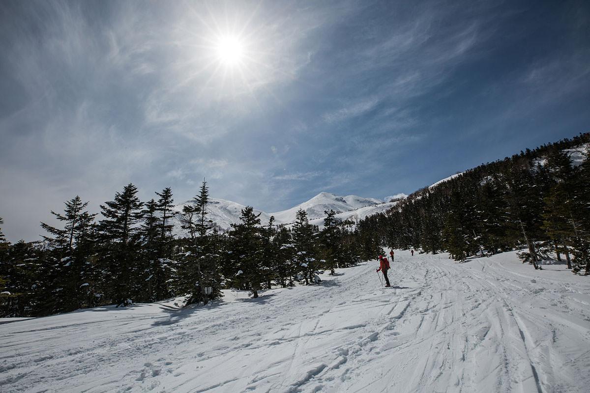 【乗鞍岳 Mt.乗鞍スノーリゾート】登山百景-青空が戻ってきた