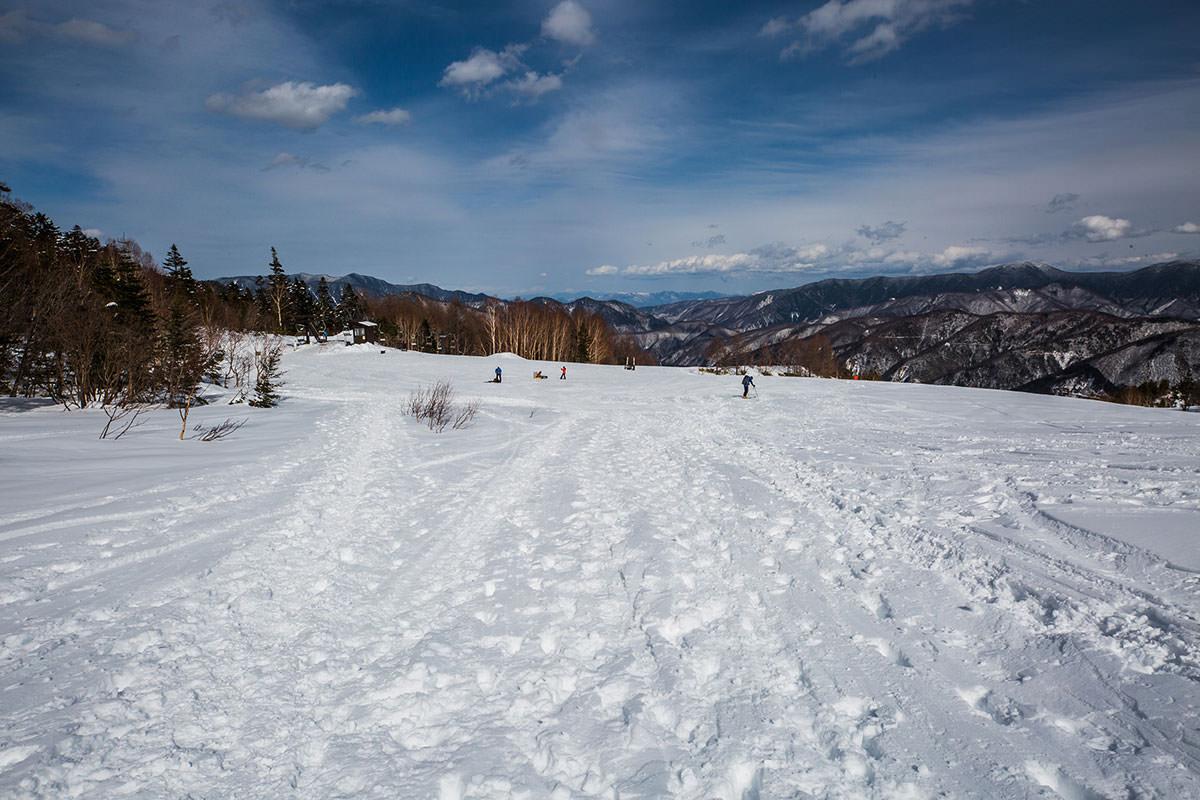 【乗鞍岳 Mt.乗鞍スノーリゾート】登山百景-ゲレンデに着いた