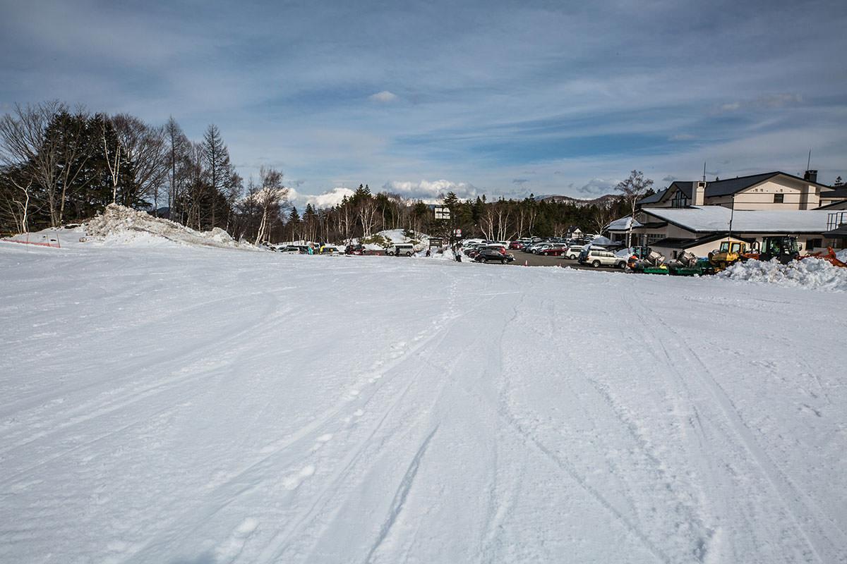 【乗鞍岳 Mt.乗鞍スノーリゾート】登山百景-スタート地点に戻ってきた