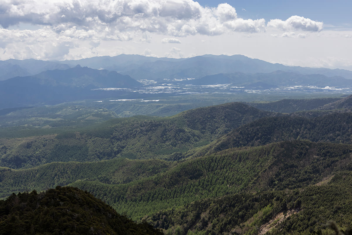 川上村と金峰山と甲武信ヶ岳と