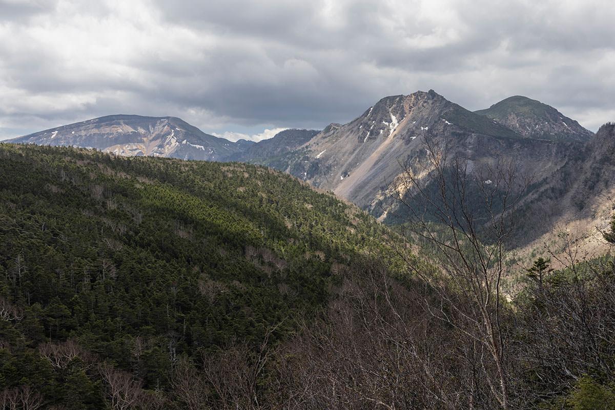天狗岳と硫黄岳