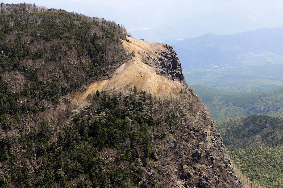 にゅう北八ヶ岳-稲子岳