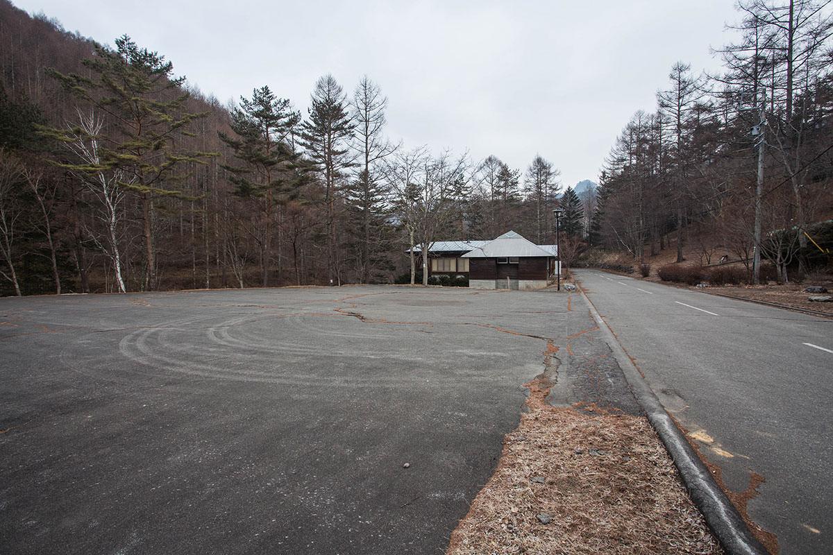【御座山】登山百景-長者の森の駐車場