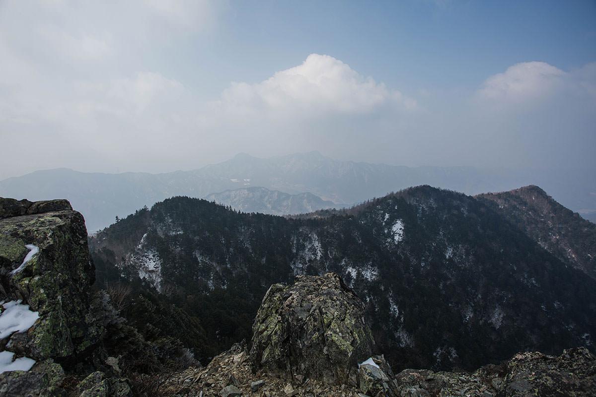 【御座山】登山百景-八ヶ岳の方