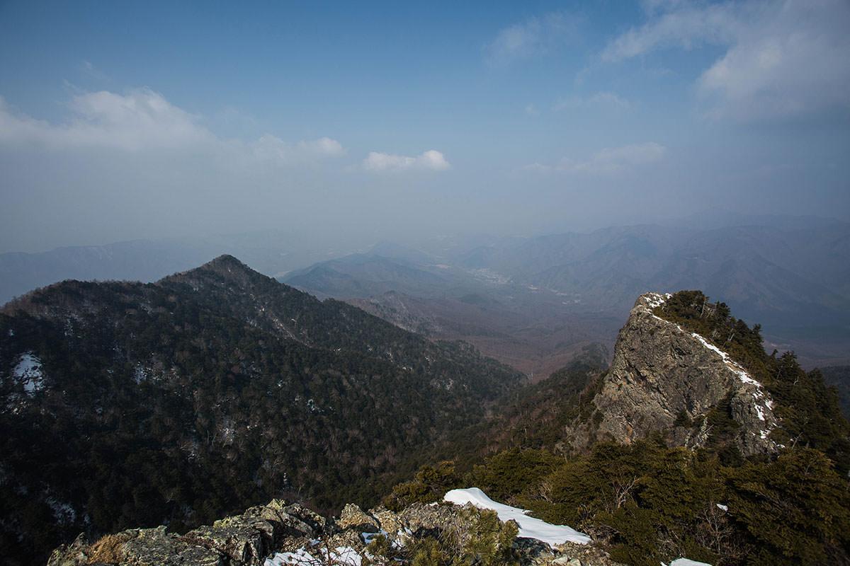 【御座山】登山百景-山頂北側