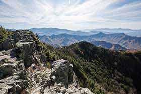 金峰山や南アルプス