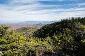 両神山や群馬方面