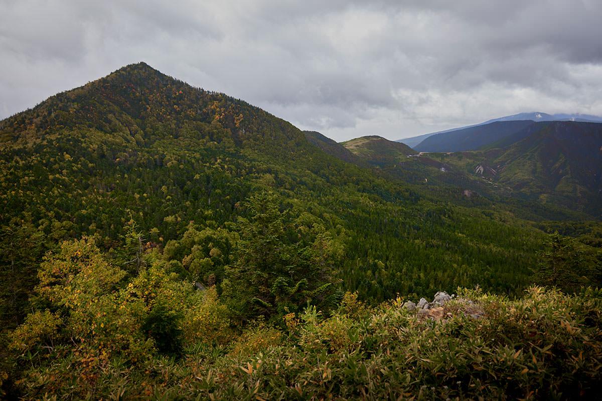 老ノ倉山-御飯岳を見る
