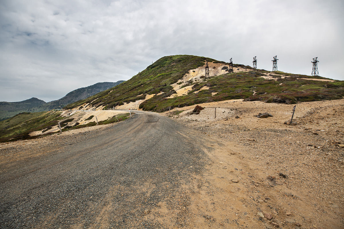 【御飯岳】登山百景-この道を通ってきた