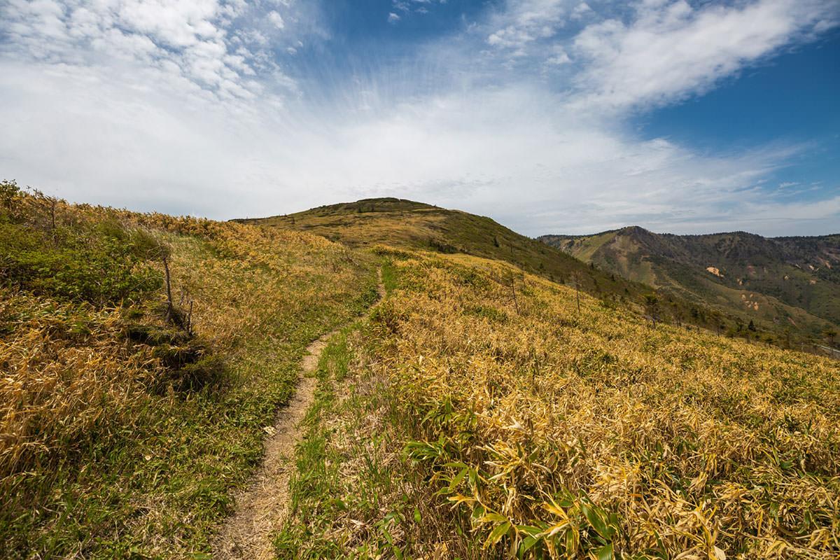 【御飯岳】登山百景-毛無山を振り返る