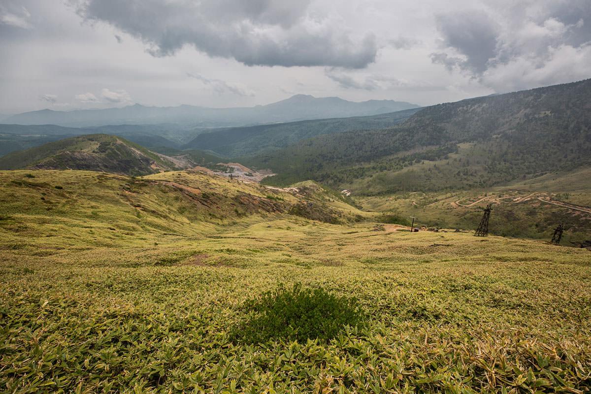 【御飯岳】登山百景-群馬県側の景色