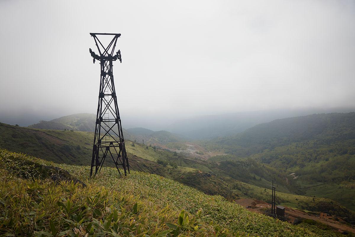 御飯岳-群馬県側は真っ白
