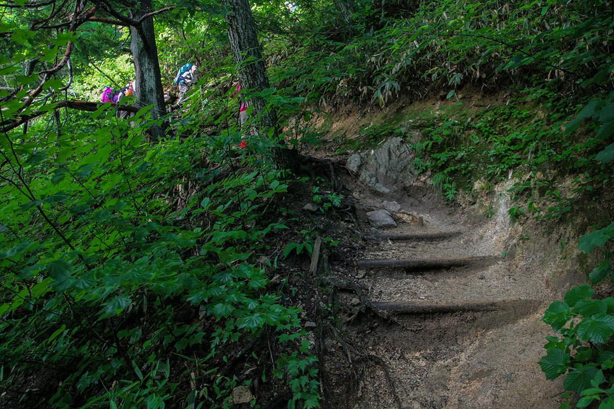 【大天井岳】登山百景-急登から始まる