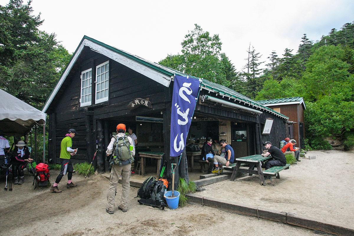 【大天井岳】登山百景-合戦小屋