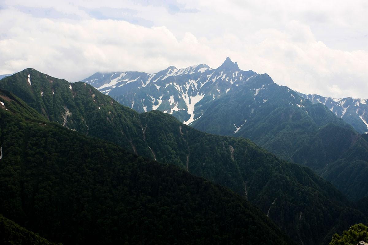 【大天井岳】登山百景-槍ヶ岳も近くなってきた