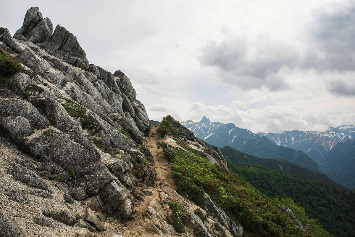 【大天井岳】登山百景-槍ヶ岳を見ながら歩く