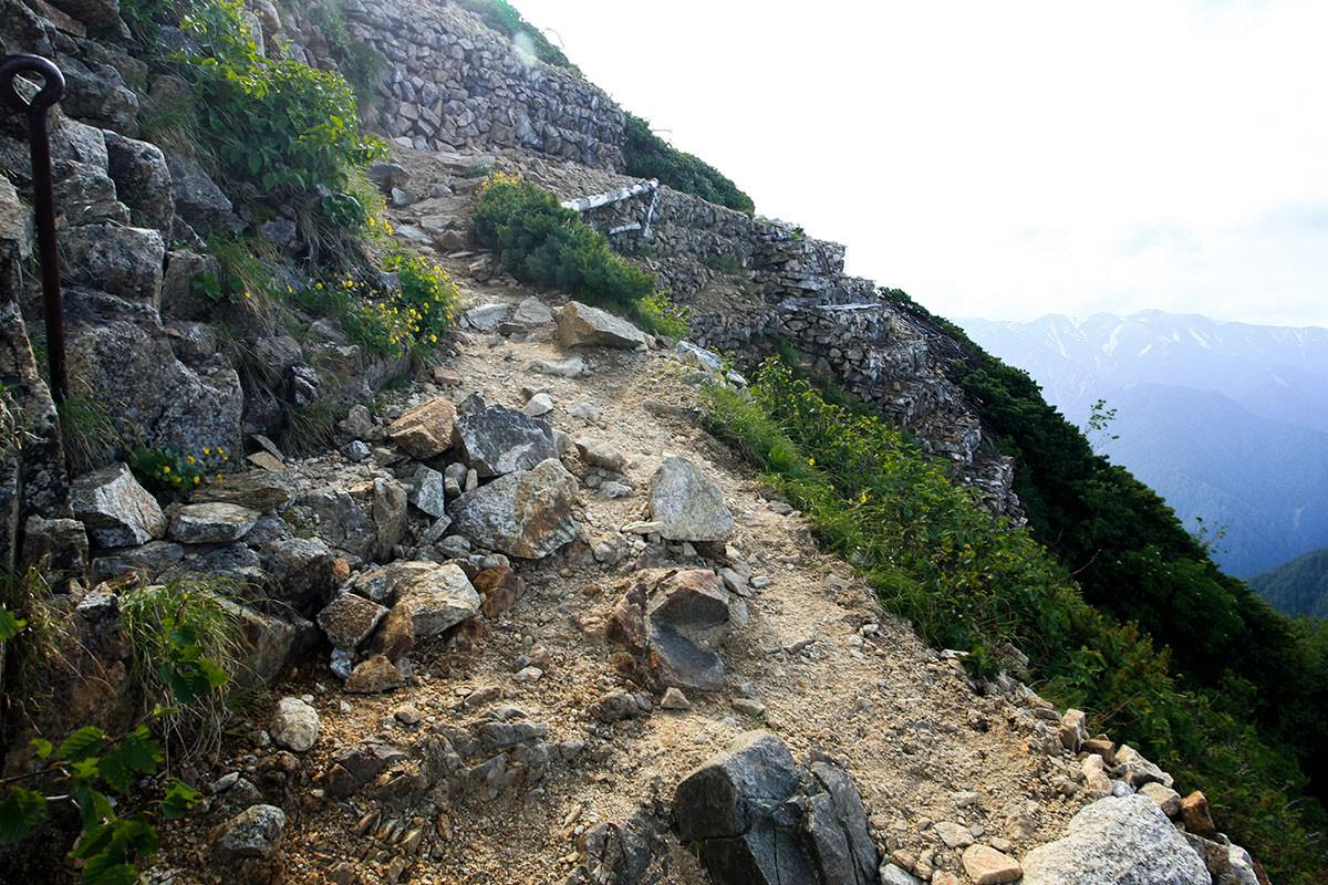【大天井岳】登山百景-槍ヶ岳への分岐