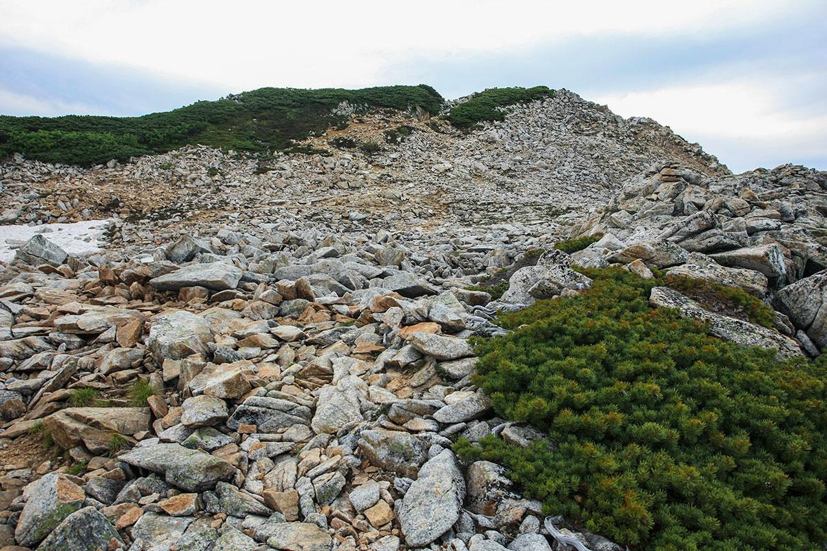 【大天井岳 表銀座】登山百景-大天荘の裏から山頂へ