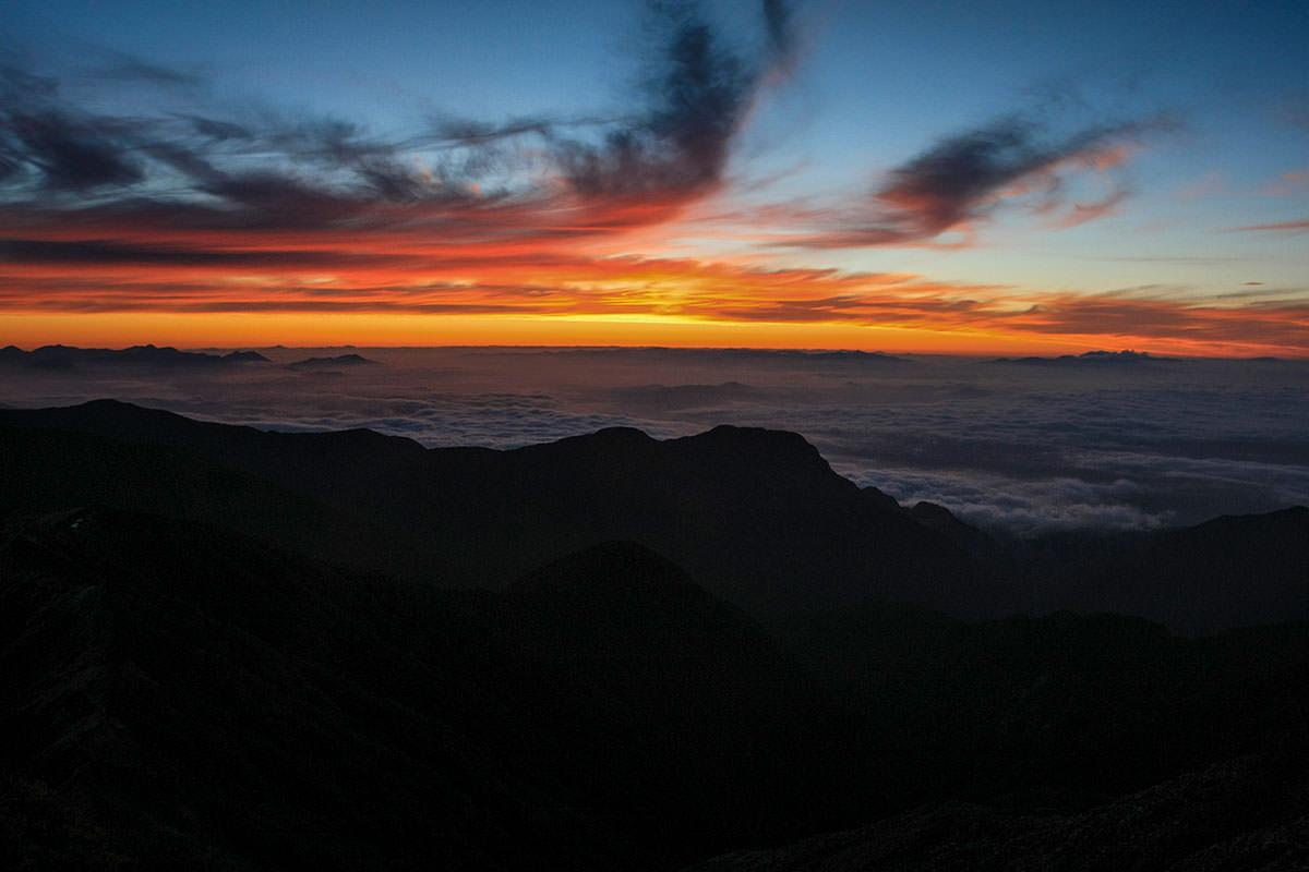 【大天井岳】登山百景-立山方面
