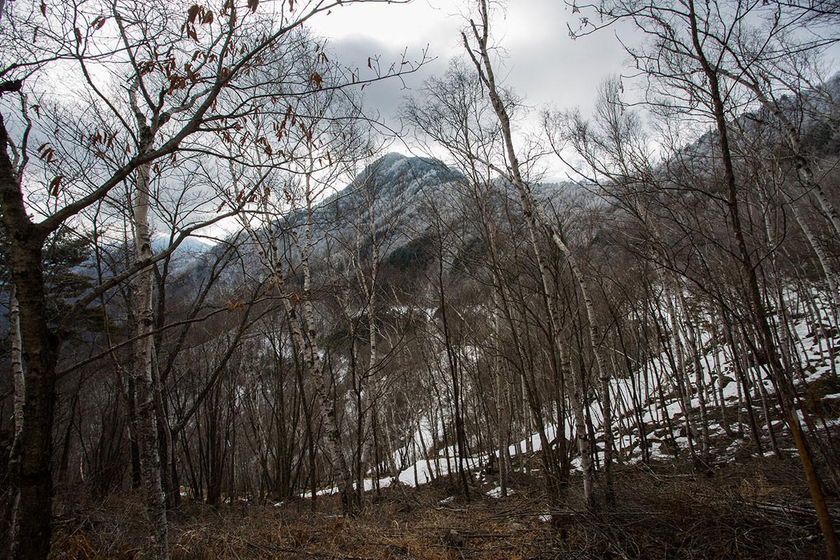 【男山】登山百景-天狗山の雲が無くなった