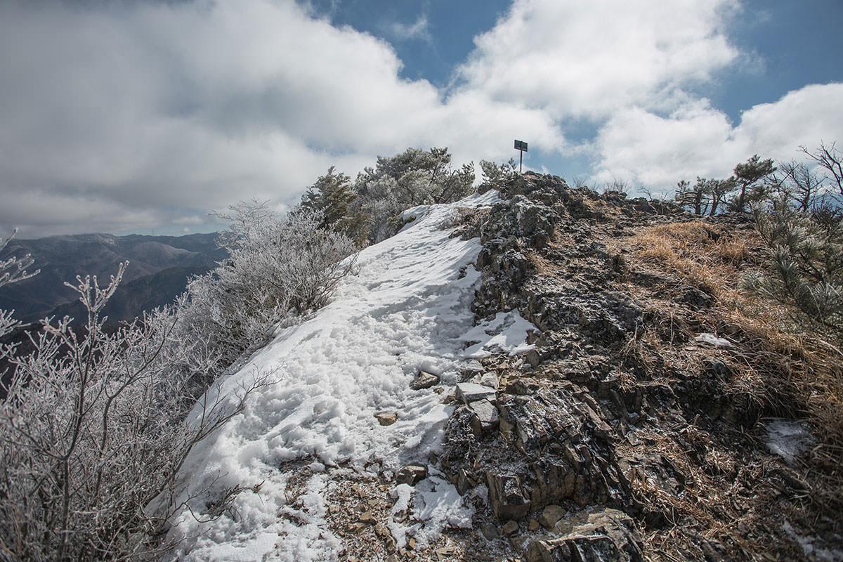 【男山】登山百景-反対側から
