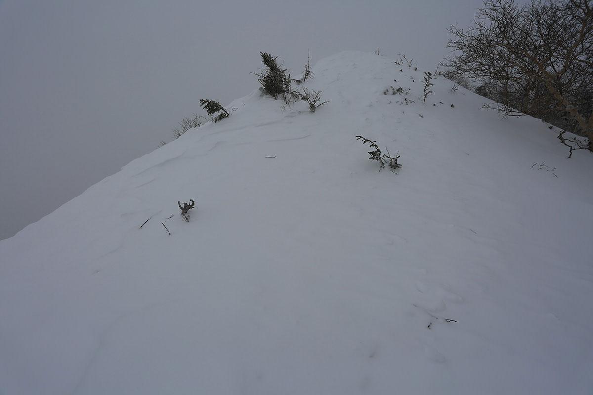 【三叉峰】登山百景-目の前の坂が高い
