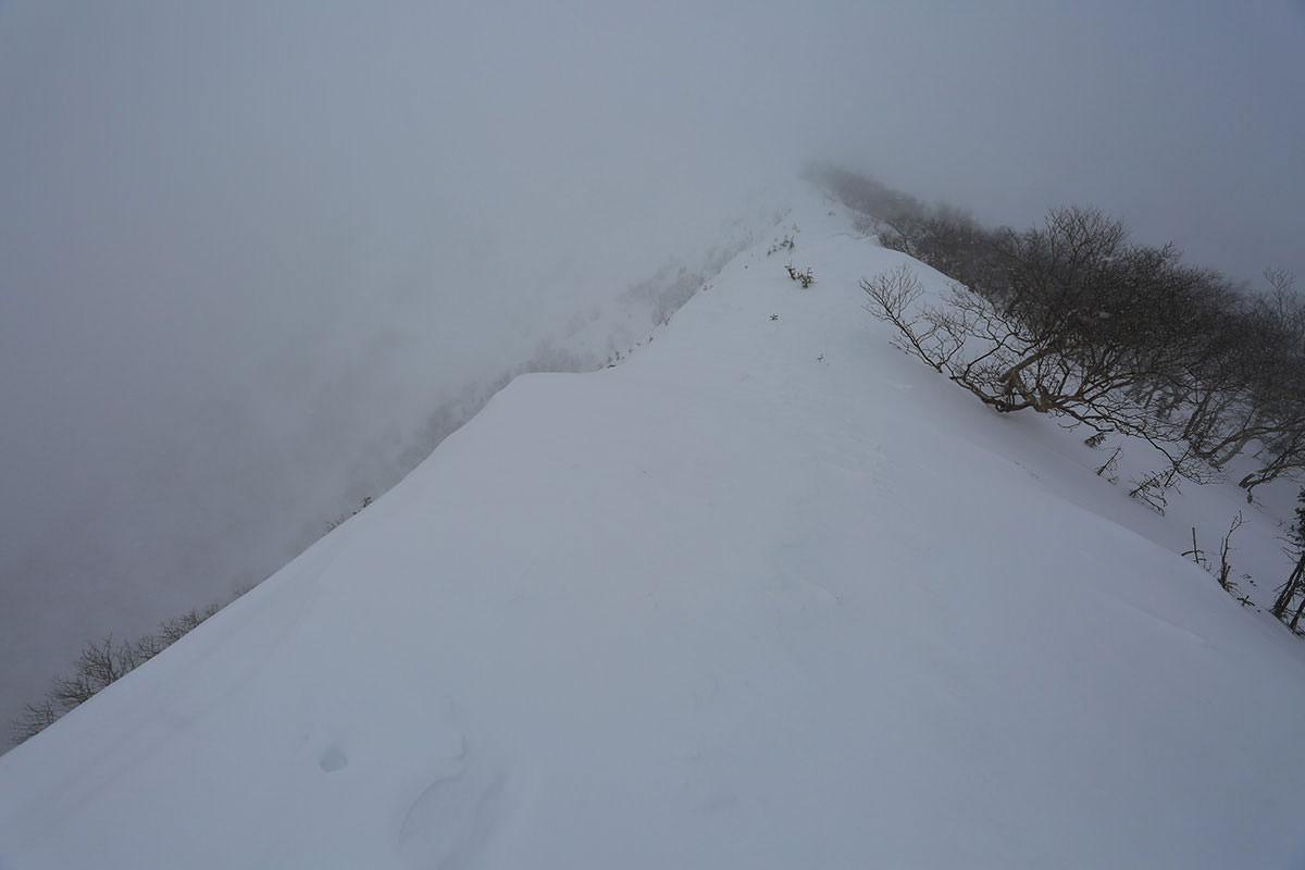【三叉峰】登山百景-先が見えない