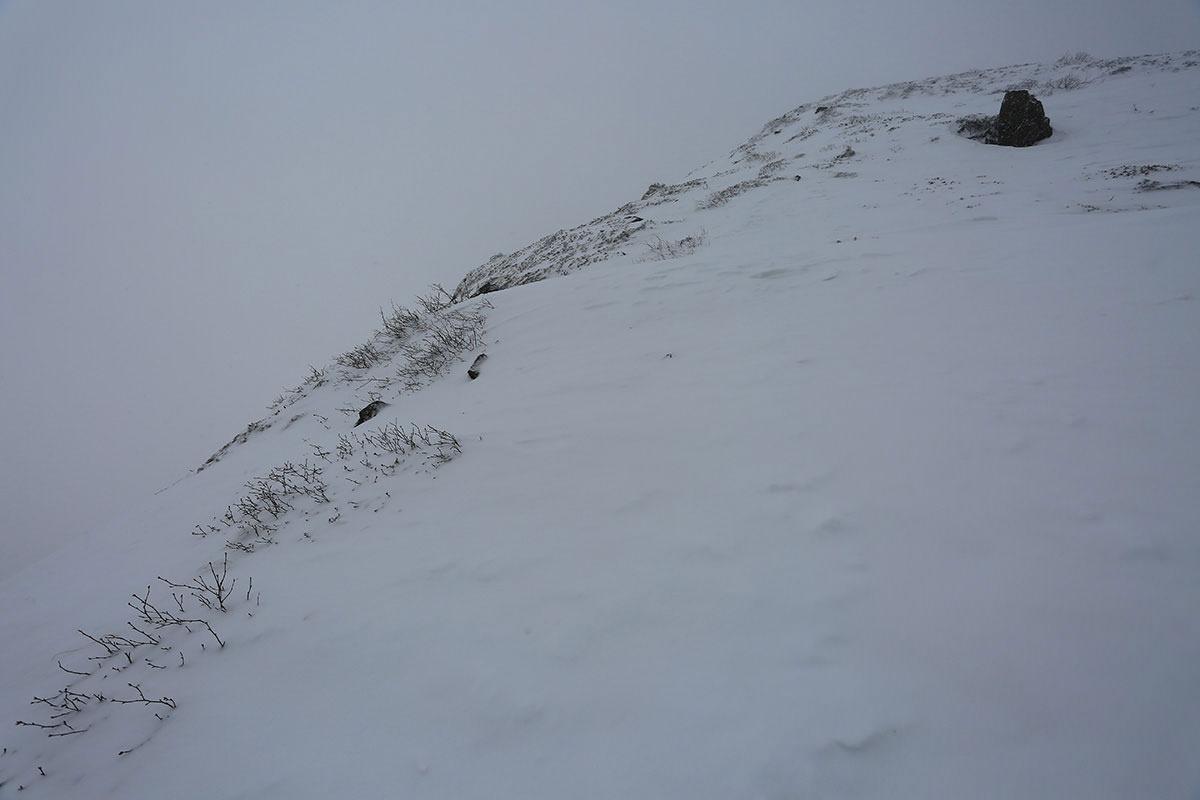 【三叉峰】登山百景-最後の登りがキツい