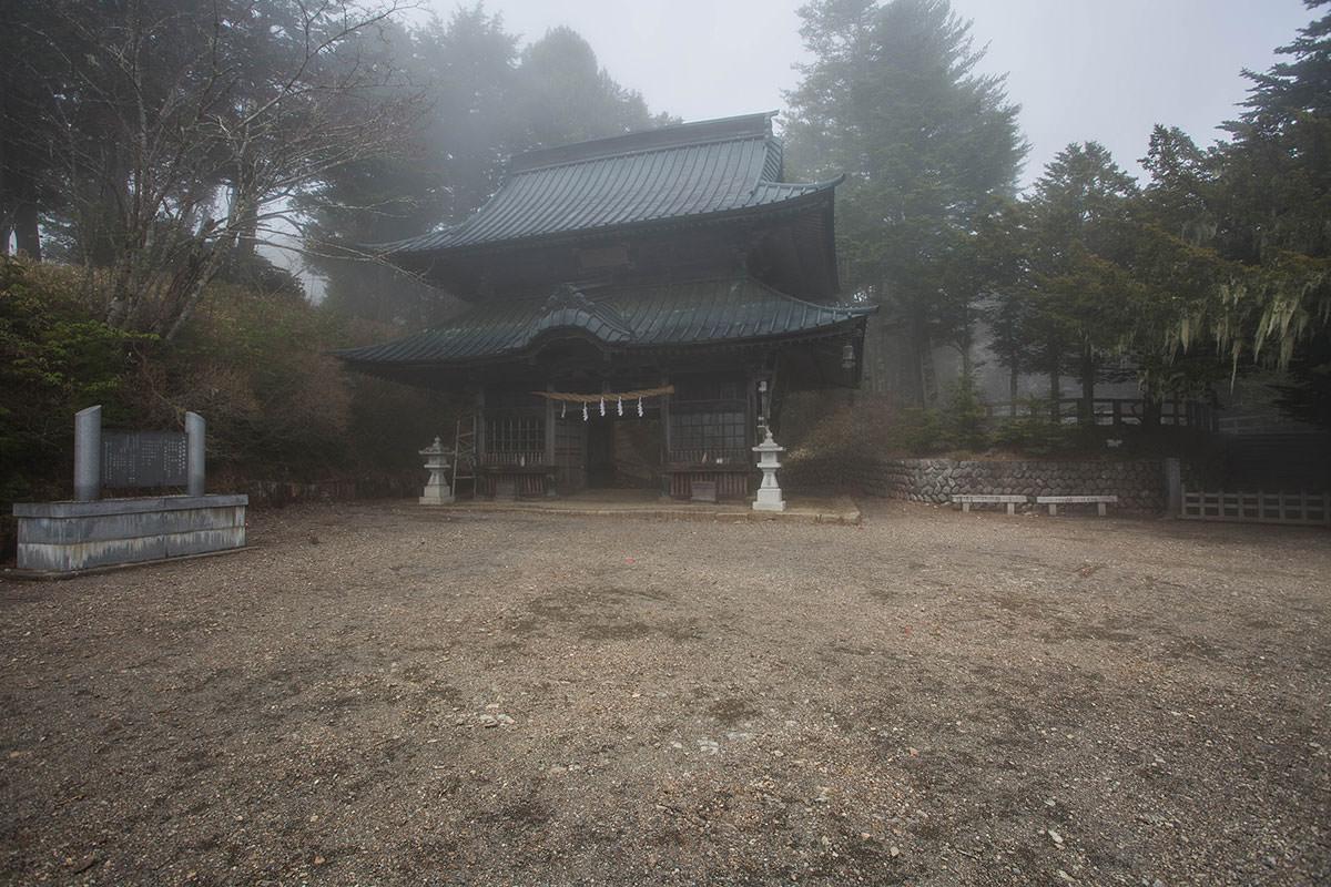 【七面山】登山百景-随神門