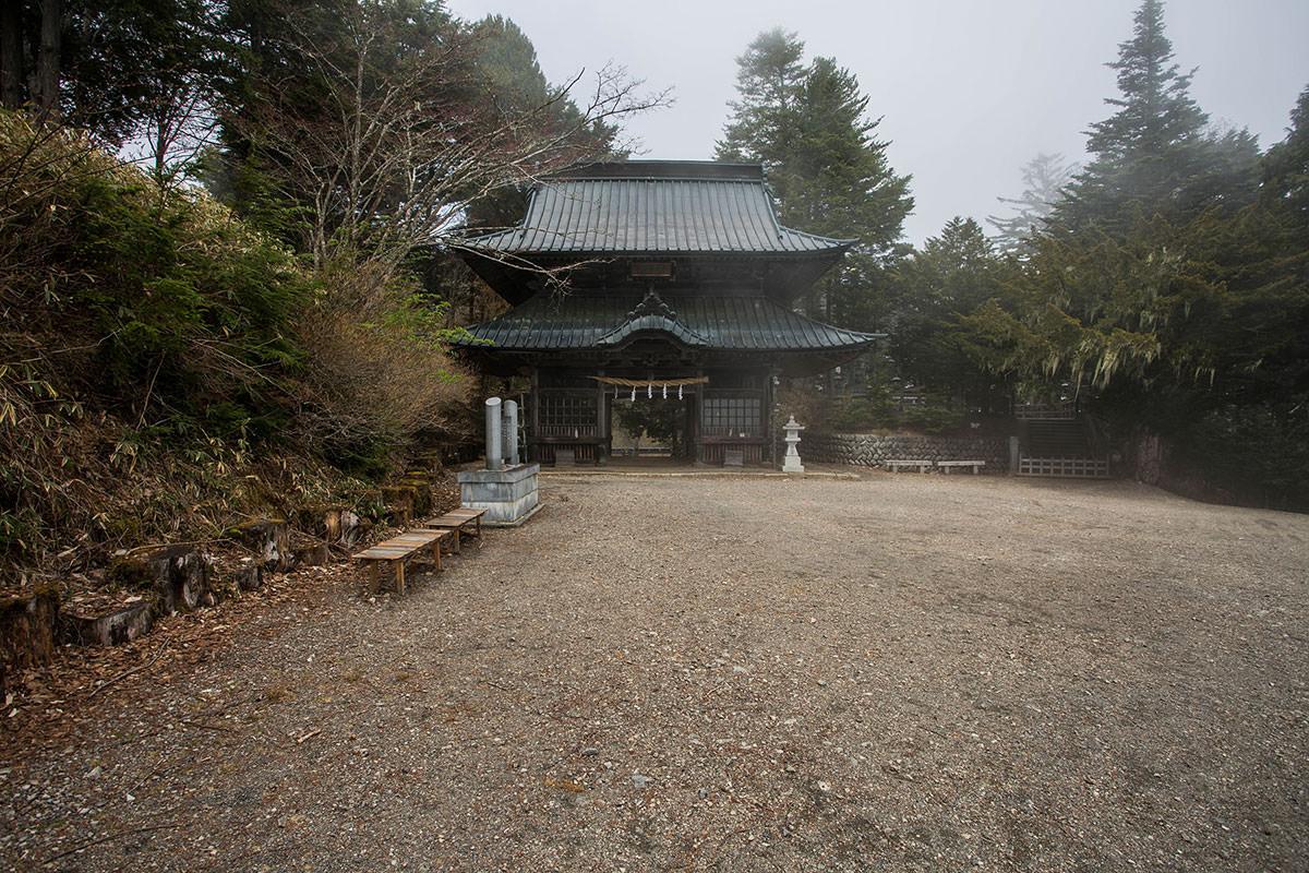 【七面山】登山百景-随神門から境内へ