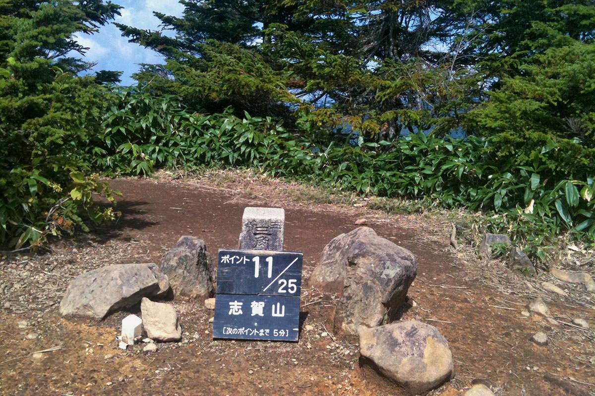 【志賀山】登山百景-裏志賀山