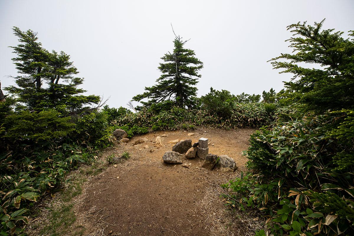 志賀山の山頂に着いた