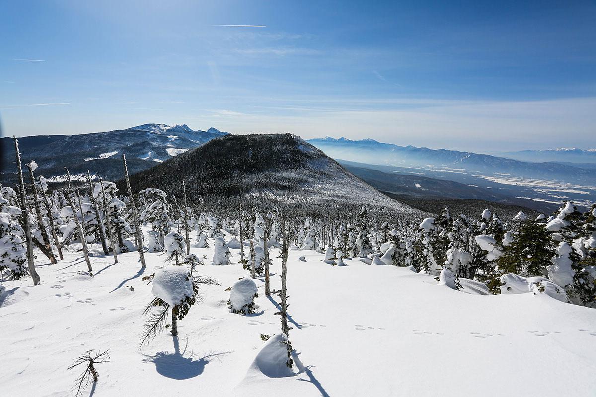 【縞枯山 北八ヶ岳ロープウェイ】登山百景-茶臼山がキレイ