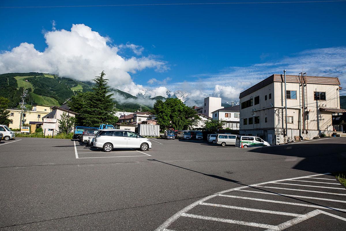 【白馬岳 栂池自然園】登山百景-ここに車を停める
