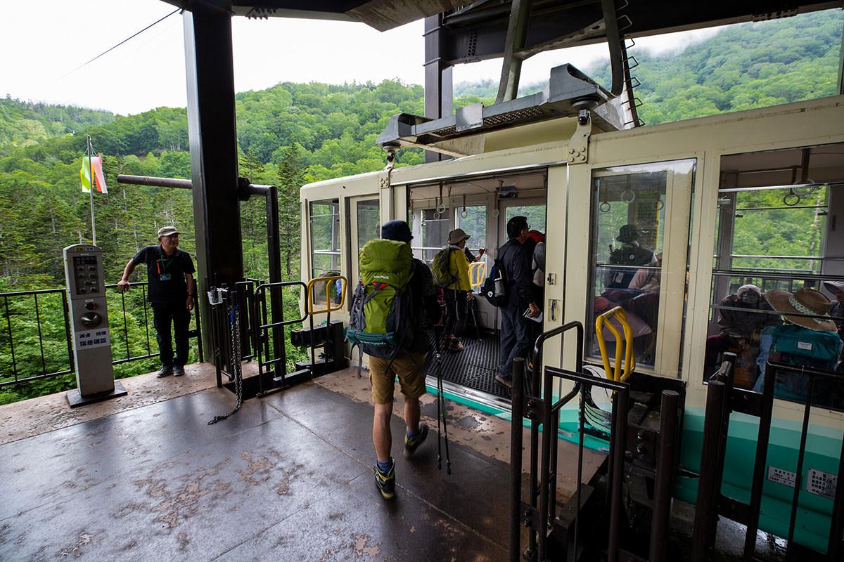 【白馬岳 栂池自然園】登山百景-乗るのは5分くらい