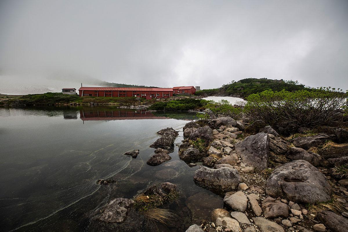 【白馬岳 栂池自然園】登山百景-白馬大池山荘へ