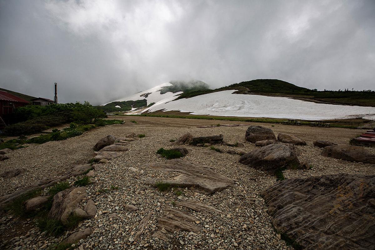 【白馬岳 栂池自然園】登山百景-居心地の良さそうなテント場