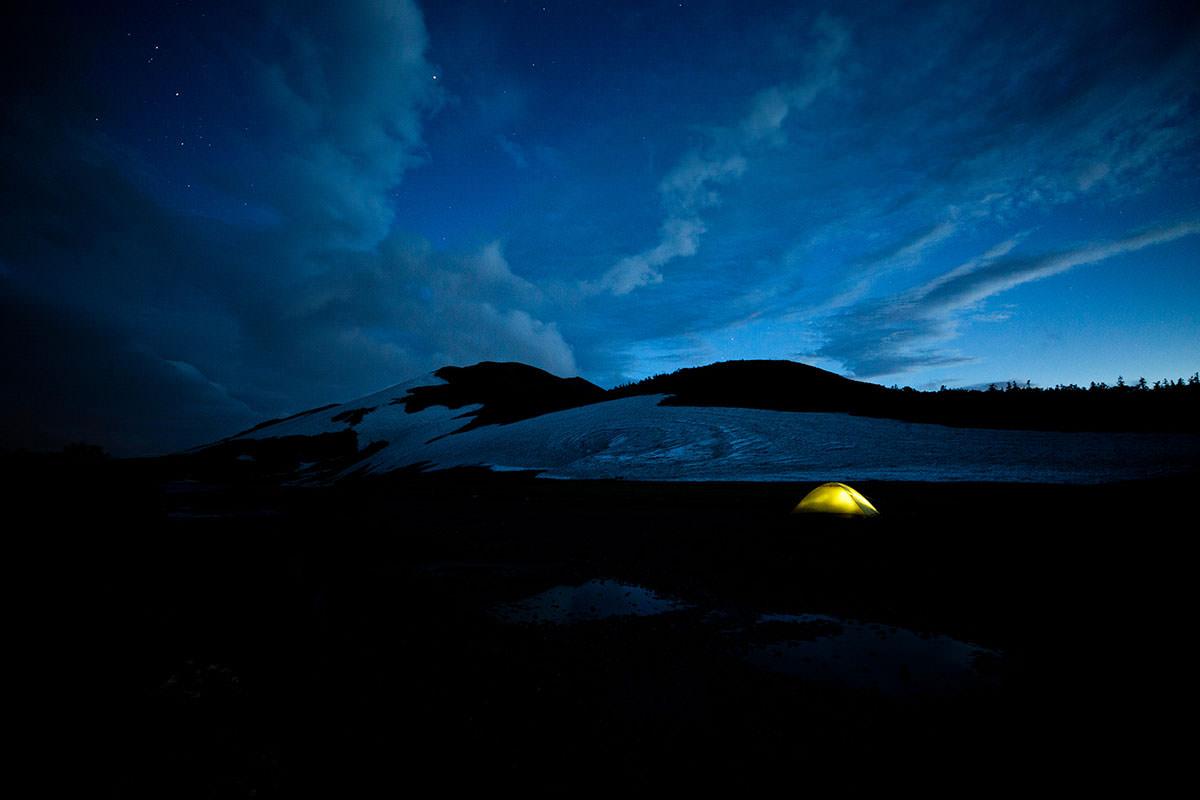 【白馬岳 栂池自然園】登山百景-明日登る方