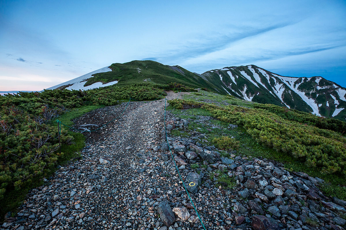 【白馬岳 栂池自然園】登山百景-稜線は近い