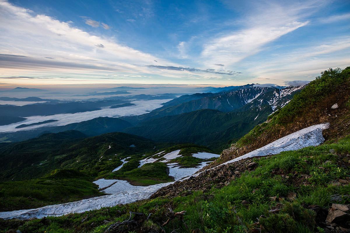 【白馬岳 栂池自然園】登山百景-南アルプスまでうっすら