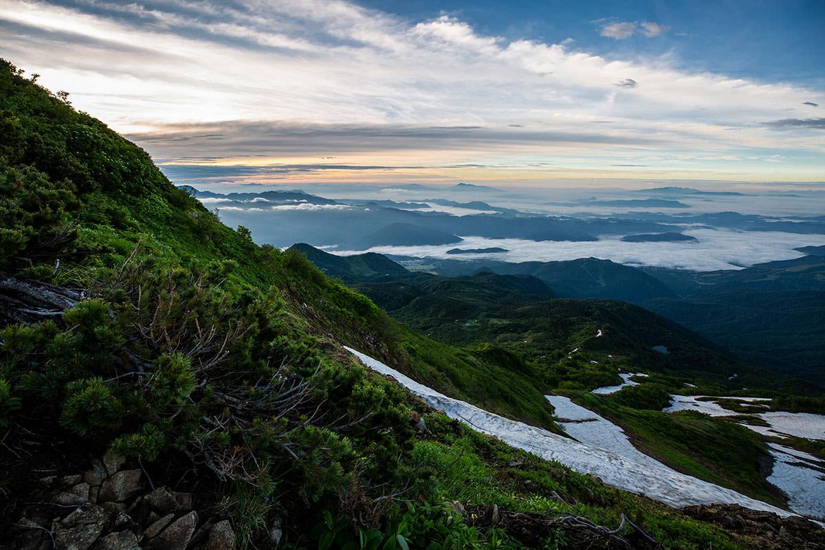 【白馬岳 栂池自然園】登山百景-実は方角が分からなくなってる