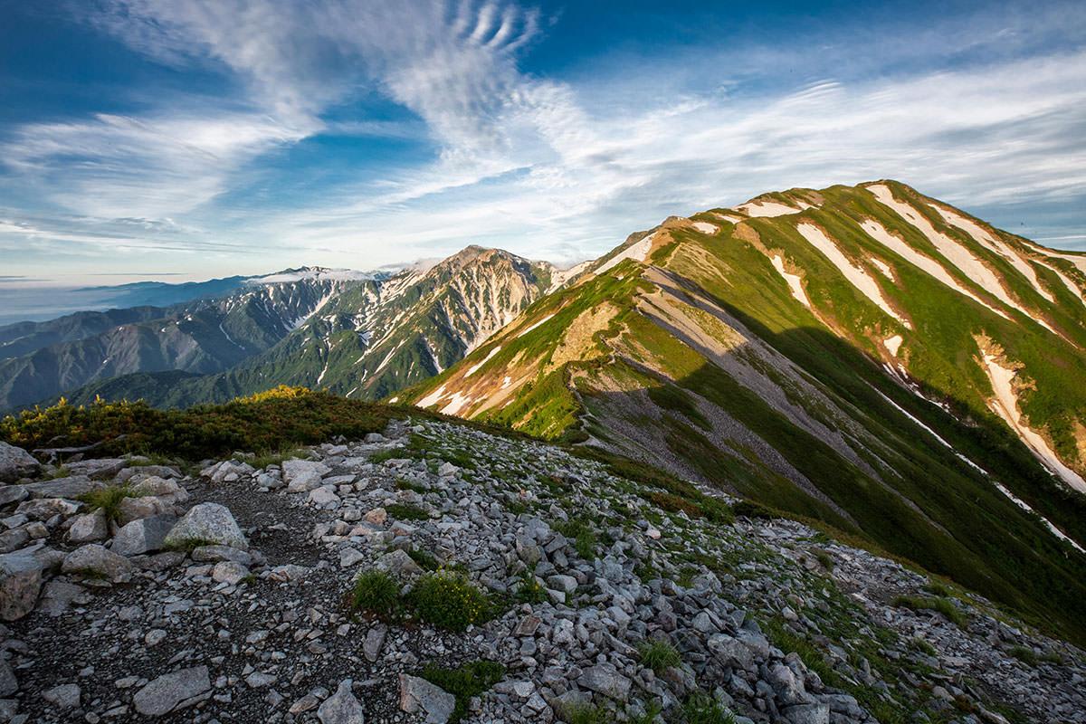 【白馬岳 栂池自然園】登山百景-船越の頭から下りる