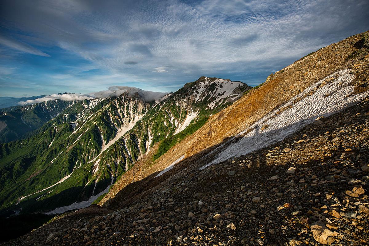 【白馬岳 栂池自然園】登山百景-白馬岳が見えた