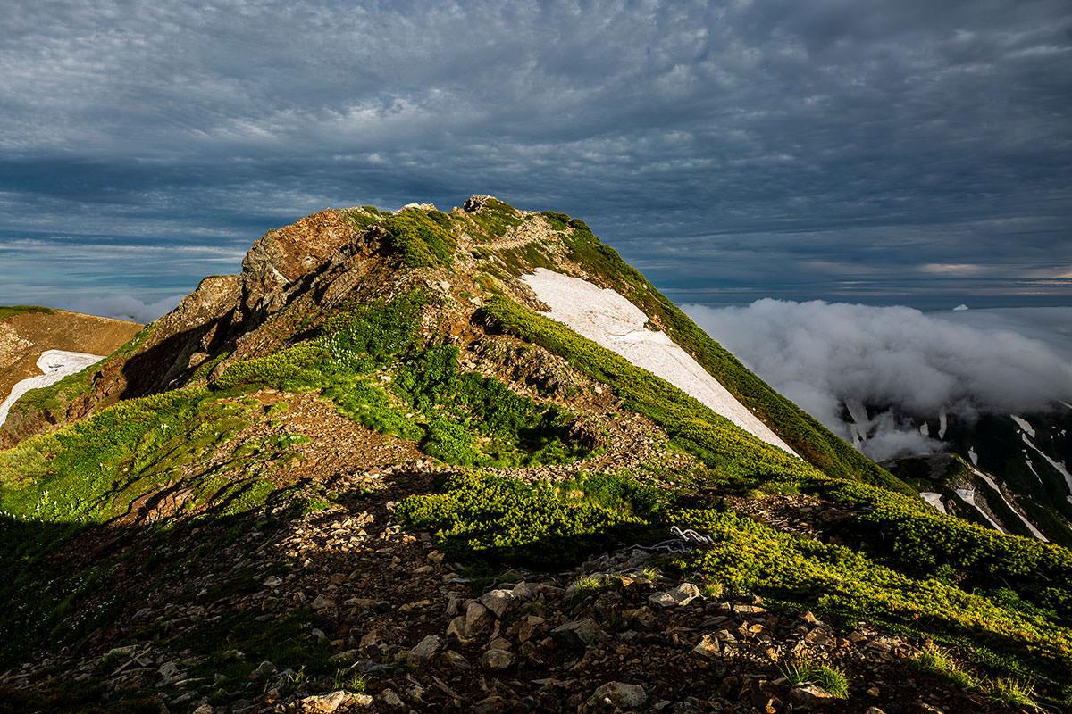 【白馬岳 栂池自然園】登山百景-あの先に小蓮華岳山頂