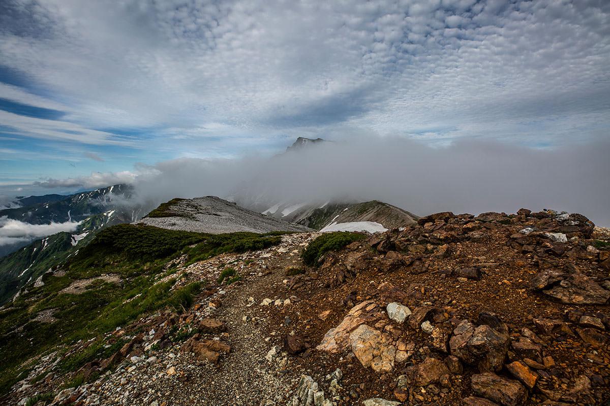 【白馬岳 栂池自然園】登山百景-白馬岳へ向かう