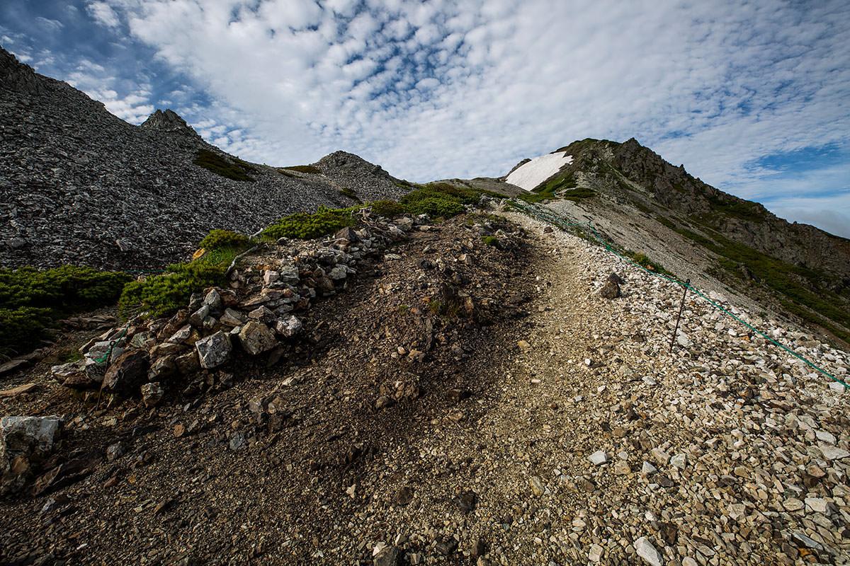【白馬岳 栂池自然園】登山百景-白馬岳へ向かって登る