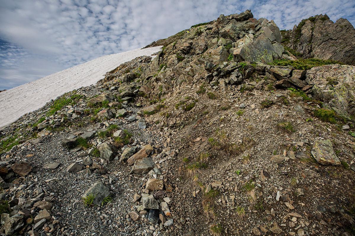【白馬岳 栂池自然園】登山百景-角度がキツいところもある
